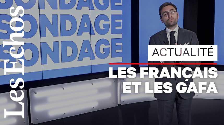 Illustration pour la vidéo 65 % des Français ne font pas confiance à l'UE pour mieux encadrer les GAFA