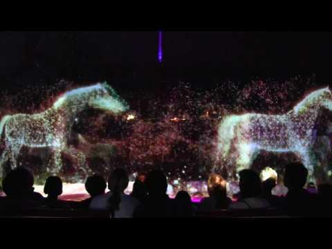 Des hologrammes pour remplacer les animaux sauvages dans le cirque Roncalli