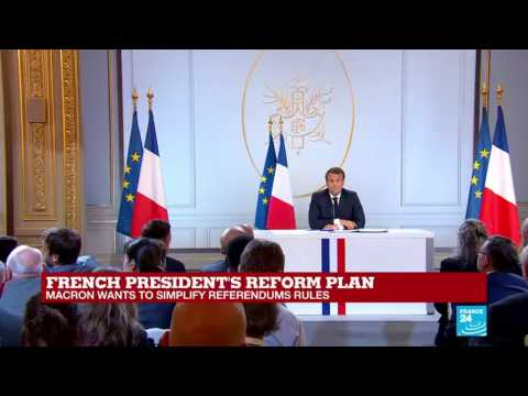 Macron on Benalla: 'A great deal has been made out of this case... too much probably'