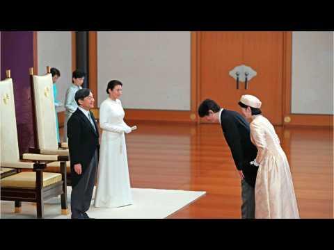 Japan Welcomes Emperor Naruhito