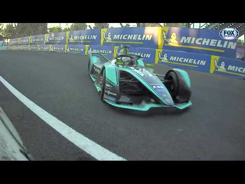 Panasonic Jaguar Racing Season 5 Mexico City E-Prix Race Highlight