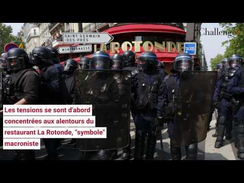 Manifestations du 1er Mai: des défilés émaillés de heurts à Paris