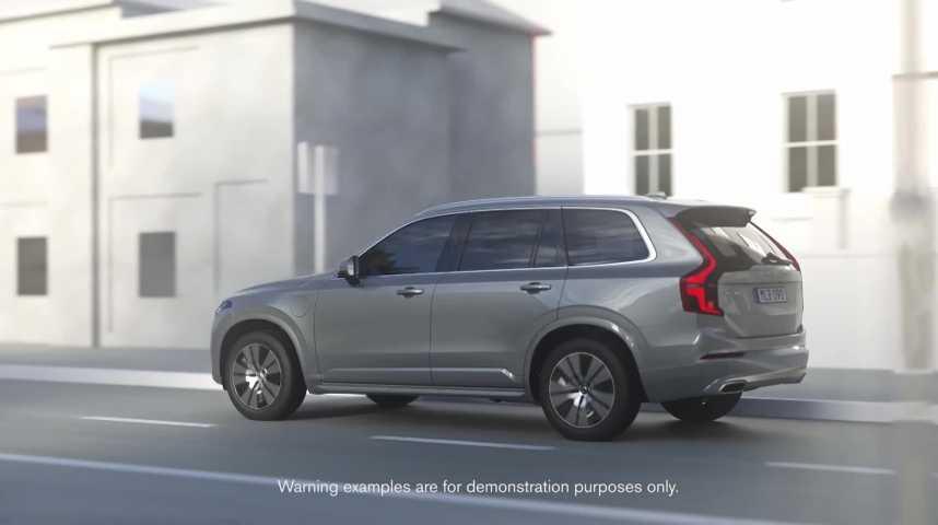 Illustration pour la vidéo La route de plus en plus sûre et propre en… Volvo !