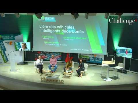 [SOMMET START-UP] Nouvelles mobilités : L'ère des véhicules intelligents décarbonés
