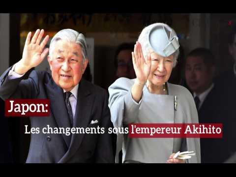 Japon: les changements sous l'empereur Akihito