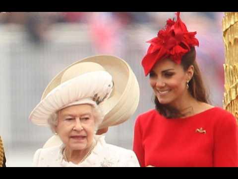 Duchess of Cambridge honoured by Queen Elizabeth