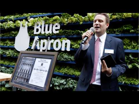 Blue Apron CEO Steps Down