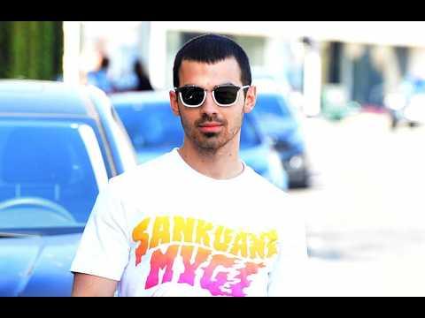 Joe Jonas needs beer for wedding