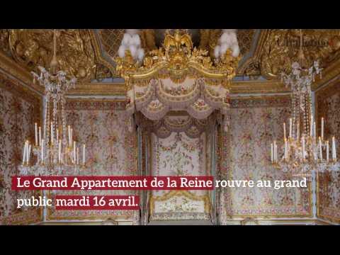 Château De Versailles: Réouverture Du Grand Appartement De La Reine