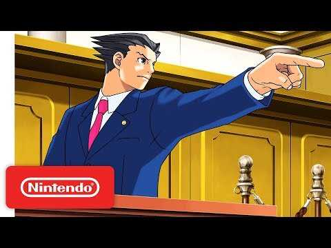 Phoenix Wright: Ace Attorney Trilogy - Launch Trailer - Nintendo Switch