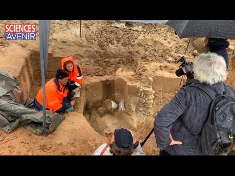 Une mystérieuse tombe étrusque découverte en Corse