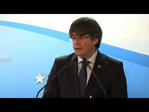 Ex-Catalan leader Puigdemont to run for EU polls