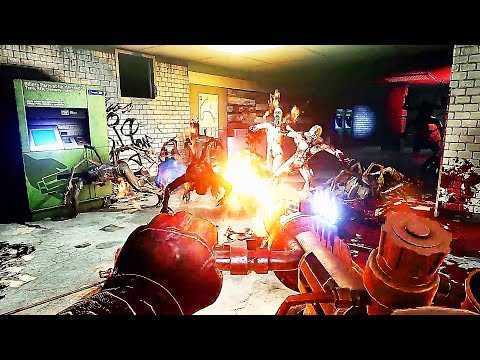 KILLING FLOOR Double Feature Gameplay Trailer (2019) PS4 / PS VR