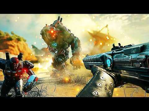 """RAGE 2 """"Weapons and Abilities"""" Gameplay Trailer (2019) PS4 / Xbox One / PC"""