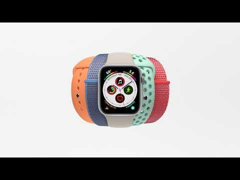 Apple Watch Series 4 — More Powerful, More Colorful — Apple