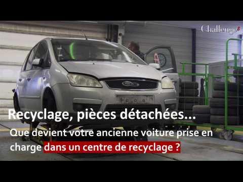 Recyclage, pièces détachées... Que devient votre ancienne voiture prise en charge dans un centre de recyclage ?