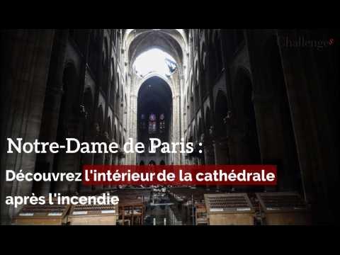 Notre-Dame de Paris : Découvrez l'intérieur de la cathédrale après l'incendie