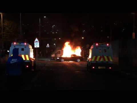 Journalist killed as riots hit Northern Ireland town