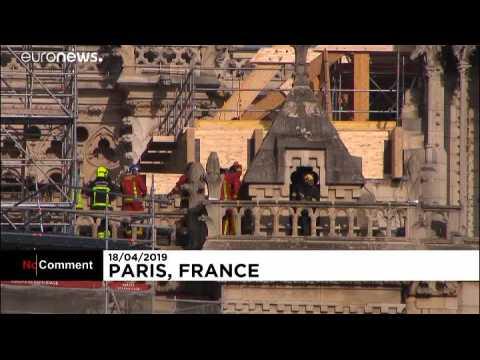 L'hommage de l'Elysée aux pompiers de Paris