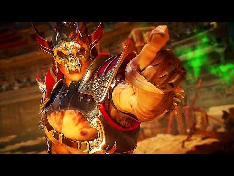 "MORTAL KOMBAT 11 ""Shao Kahn"" Gameplay Trailer (2019) PS4 / Xbox One / PC"