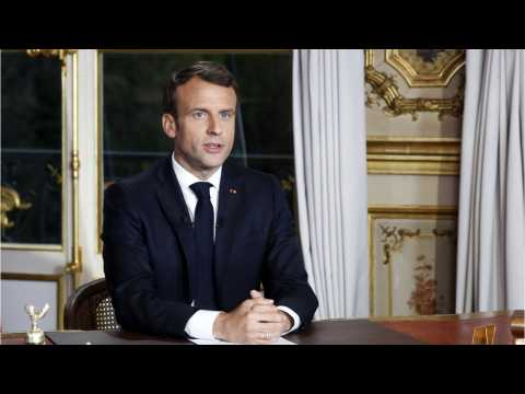In Aftermath Of Notre-Dame Blaze, Macron Says Pope Will Visit France