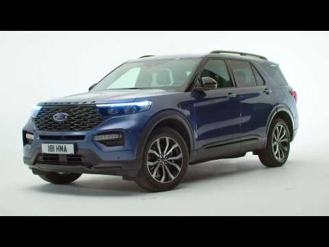 2019 Ford Explorer Design Preview
