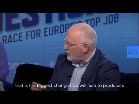 'EU needs CO2 tax to tackle climate change,' says Brussels top job hopeful Frans Timmermans