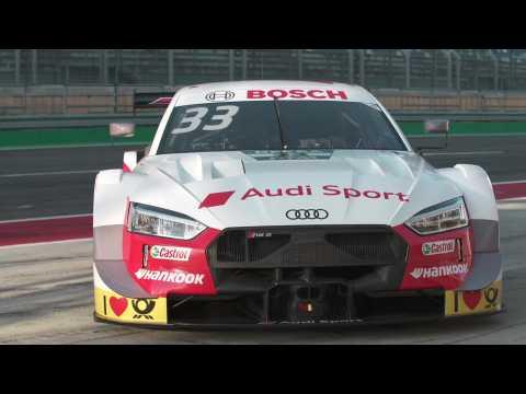 Audi Sport Team Rosberg DTM test rides Lausitzring - René Rast