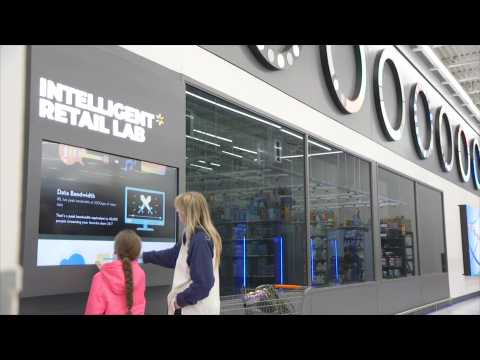Walmart Opens Futuristic AI-Powered Store In New York