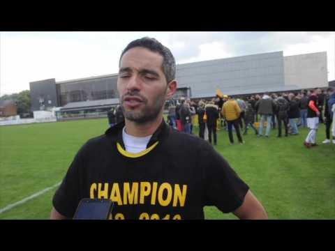 La réaction d'Abdou Boukamir après le titre de Namur