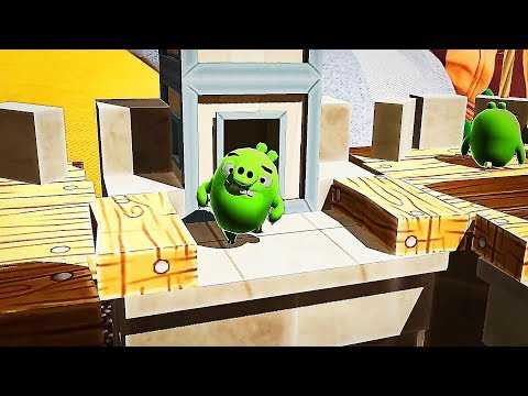 ANGRY BIRDS AR ISLE OF PIGS Gameplay Trailer (2019)