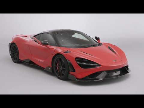 The new McLaren 765LT Design Preview