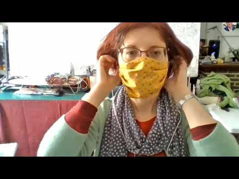 Watch: Meet the Romanian making face masks in a bid to stop spread of COVID-19