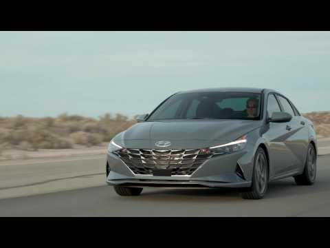 2021 Hyundai Elantra Hybrid Driving Video