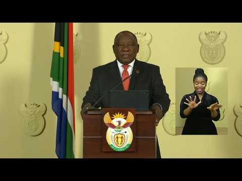 South Africa to impose 21-day lockdown to curb coronavirus : Ramaphosa