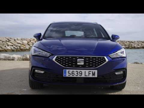 The all-new Seat Leon Sportstourer XCellence Mistery Blue Exterior Design