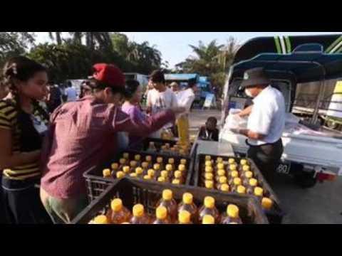 Authorities try to calm coronavirus panic buying in Myanmar