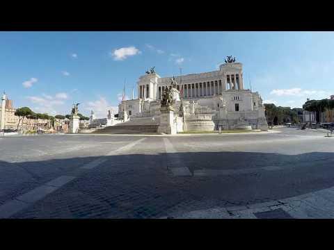 Coronavirus in Europe: Travelling around empty Rome on lockdown