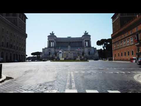 Coronavirus: Rome empty, nearly one month after start of lockdown