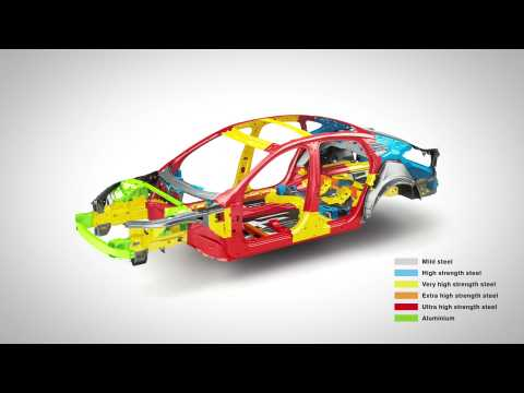 Volvo S90 Safety Cage animation
