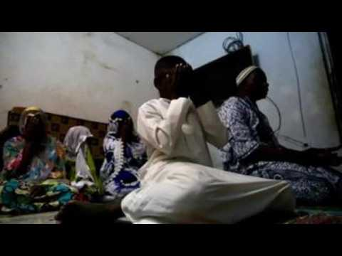 Ivorian muslims pray at home as mosques closed due to COVID-19