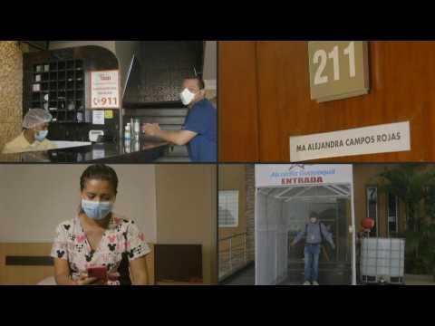 The sacrifice of virus-hit Ecuador's city doctors to escape unemployment