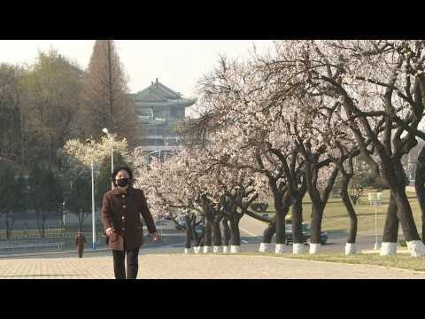 General views of North Korea's capital city Pyongyang