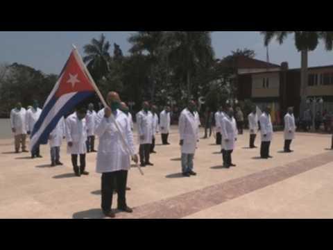 Cuba sends 2nd batch of doctors to Italy to battle coronavirus