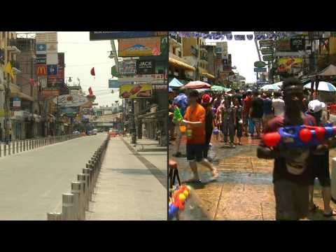 Then and now: Thailand's Songkran festival