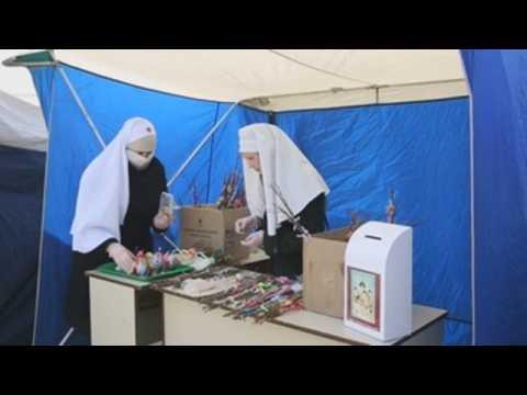 Orthodox Palm Sunday amid coronavirus pandemic in Minsk