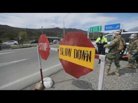 Georgian authorities impose coronavirus lockdown