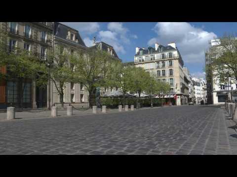 Coronavirus: Chic Saint-Germain-des-Prés neighbourhood in Paris at a standstill on day 15 of lockdown