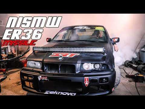 BURN dans le garage avec la NISMW ER36 ! MAKE THE MISSILE GREAT AGAIN #2