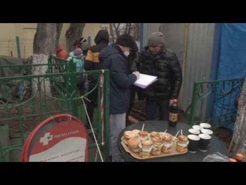 Russian Church feeds people in need in Moscow